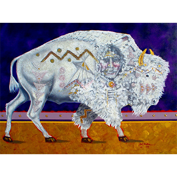 Sacred White Buffalo